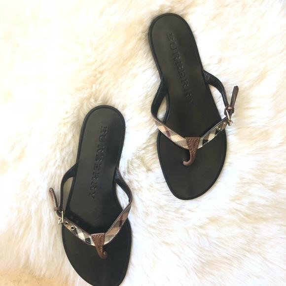 6b9848ced0d5 Burberry Shoes - Burberry parson Sandal nova check size 37